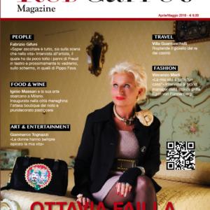 ottavia failla copertina red carpet magazine