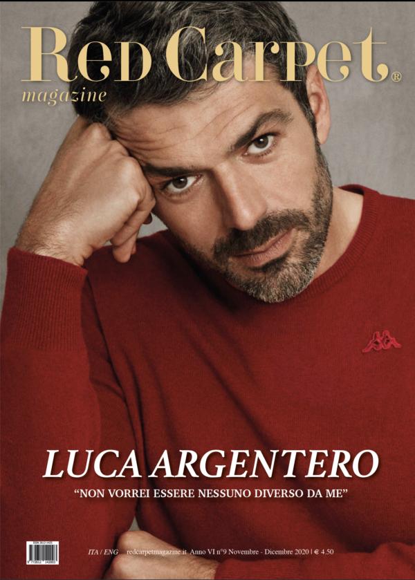 Copertina Red Carpet Magazine Ottobre Novembre Dicembre 2020